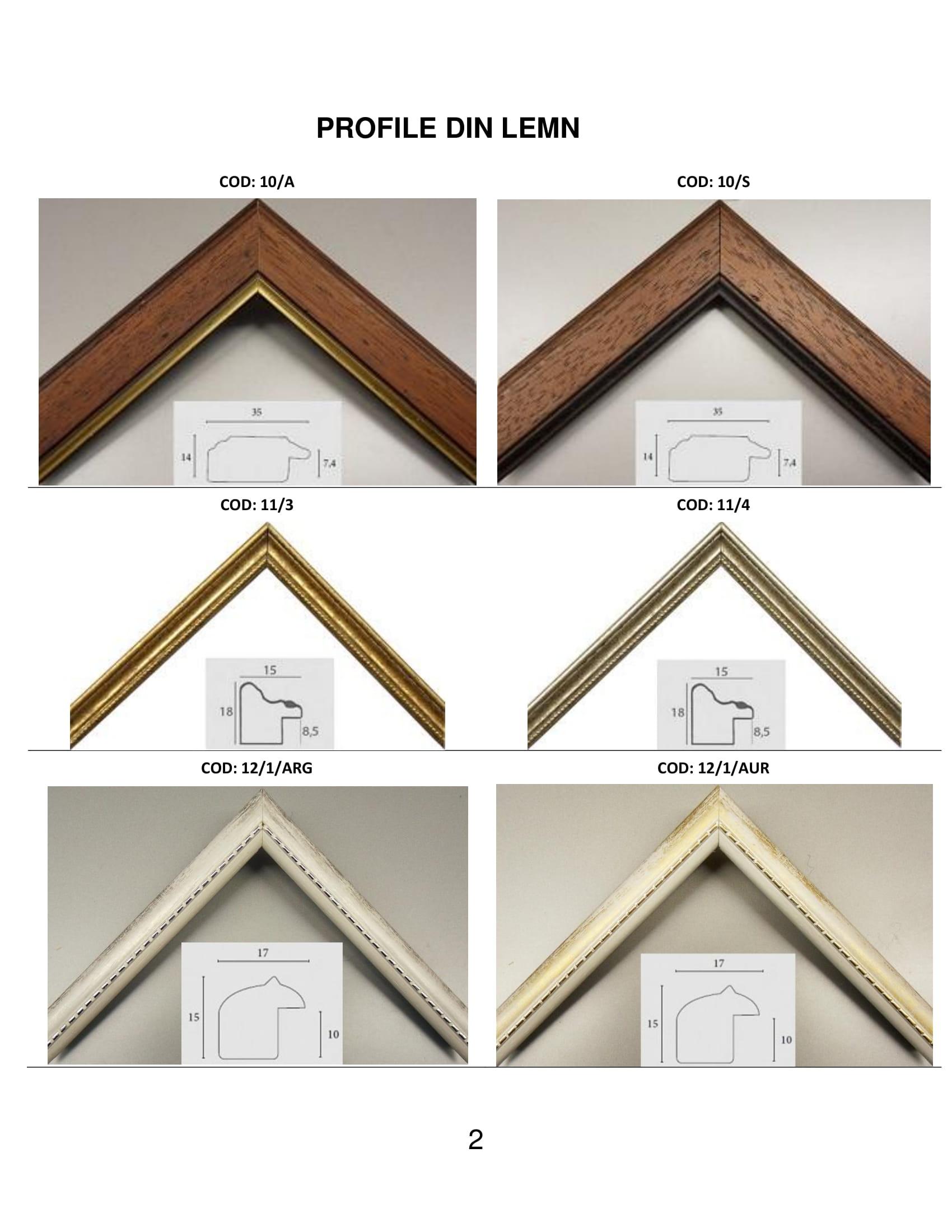 rame profile din lemn - 2