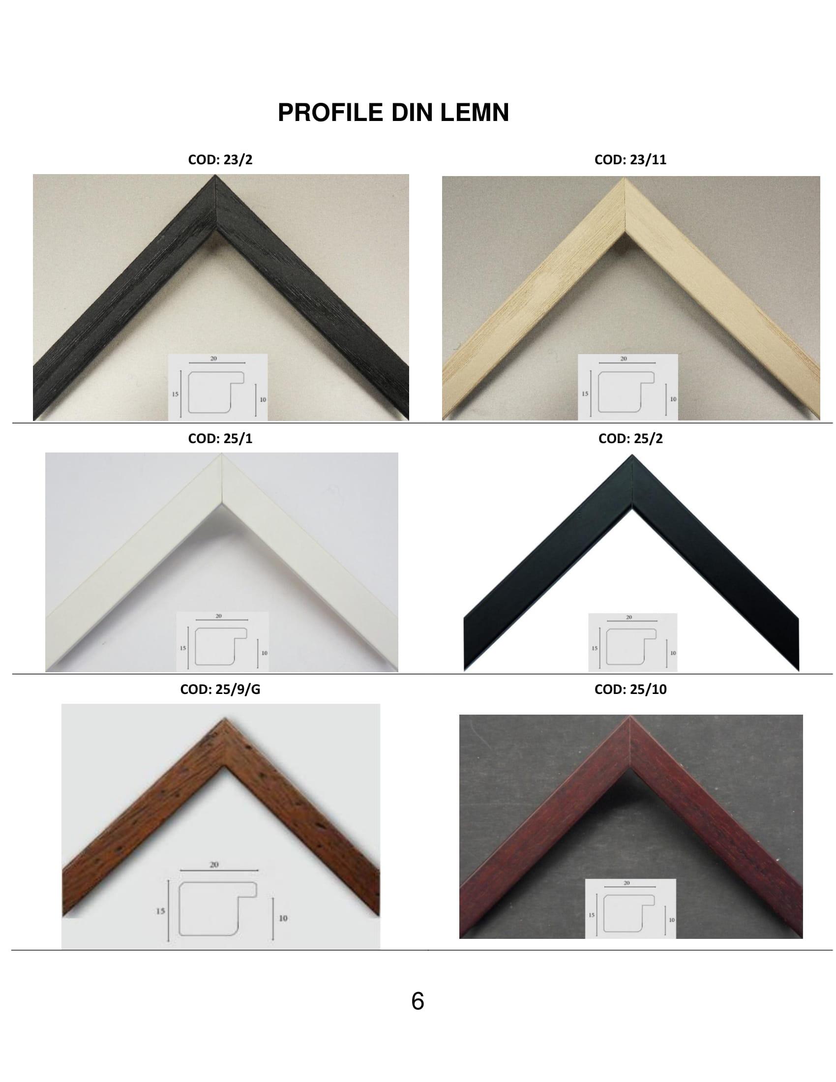 rame profile din lemn - 6