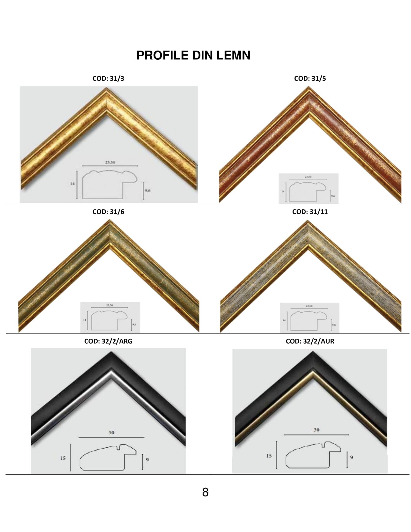 rame profile din lemn - 8