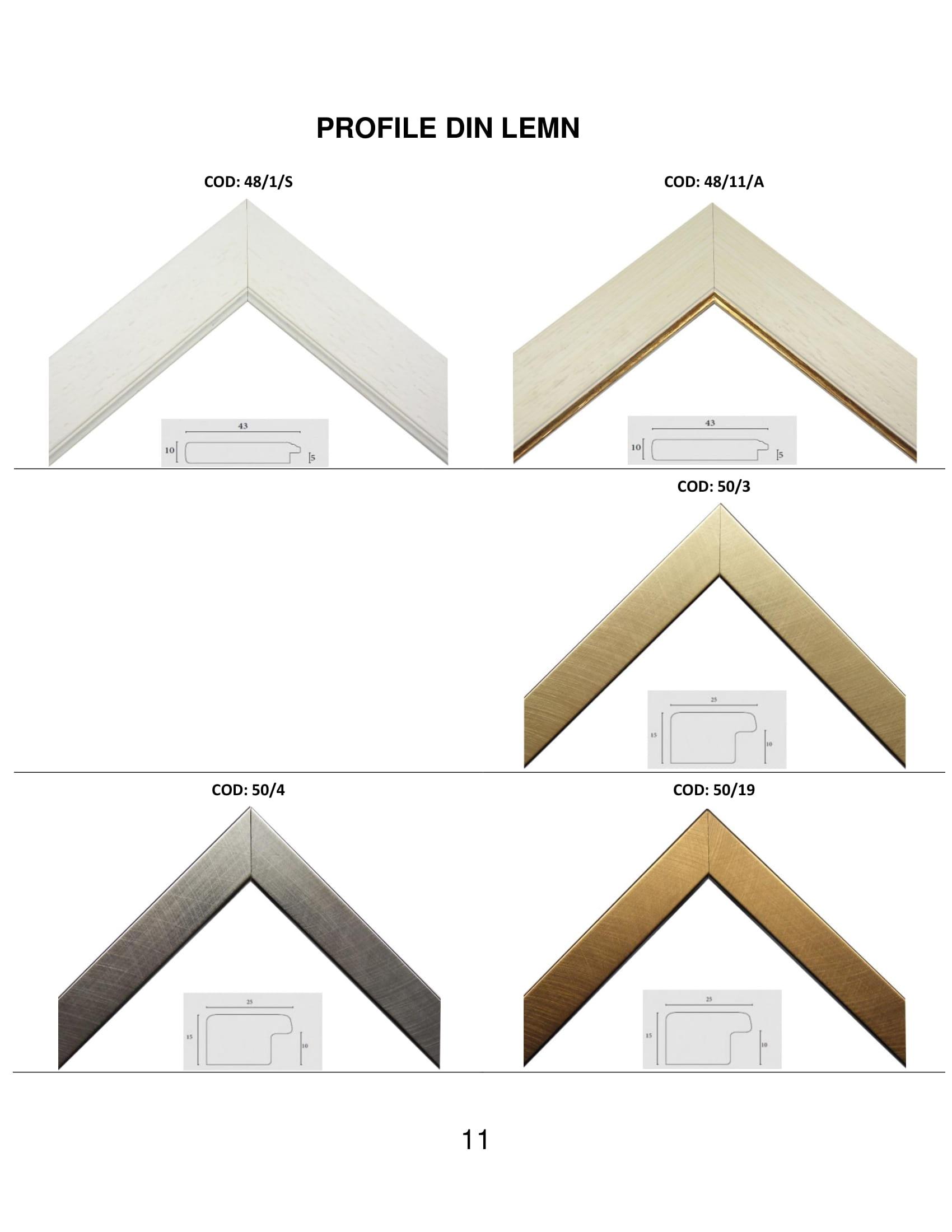 rame profile din lemn - 11