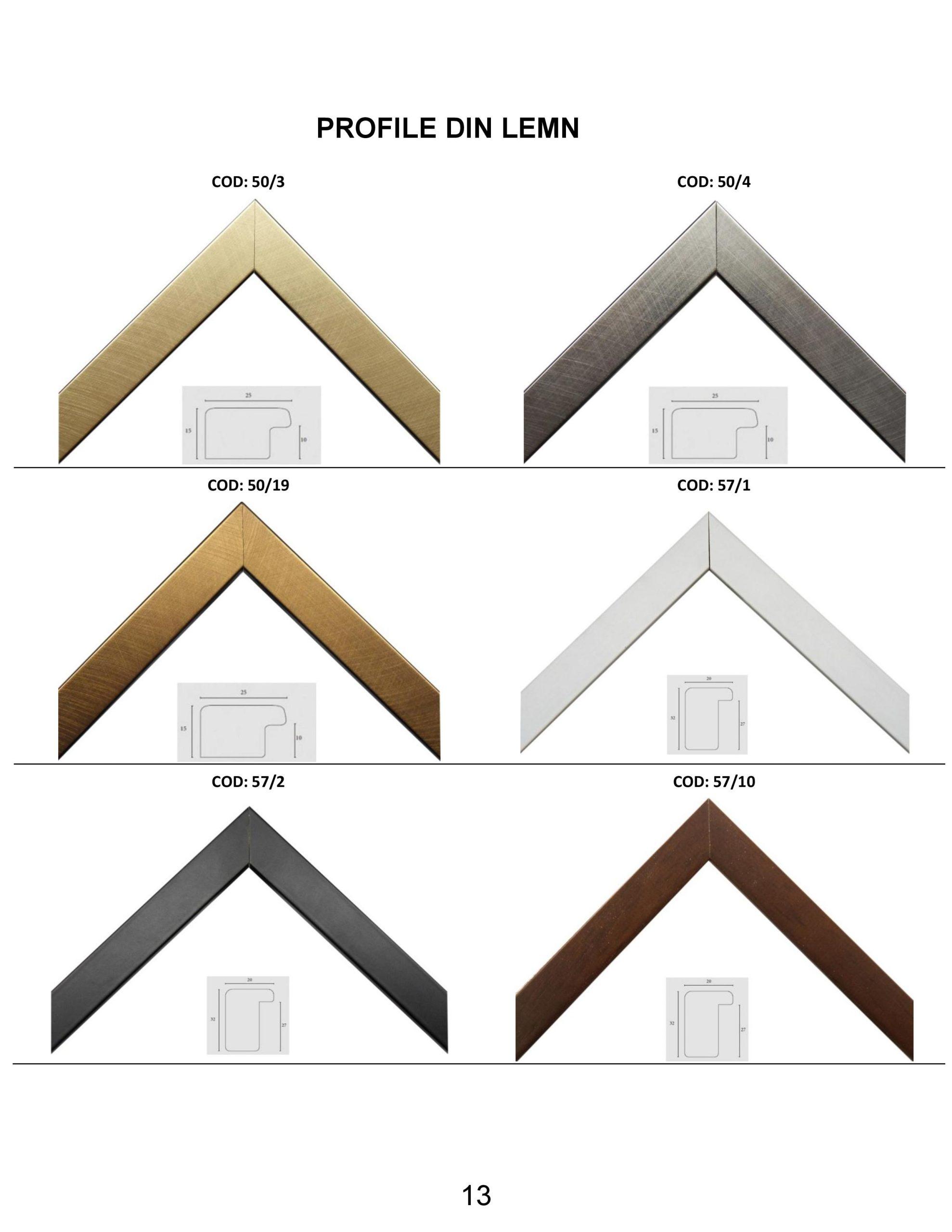 rame profile din lemn - 13
